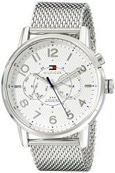 Tommy Hilfiger Men's 1791087 Silver-Tone Stainless Steel Watch