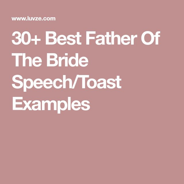 The  Best Wedding Toast Examples Ideas On   Wedding