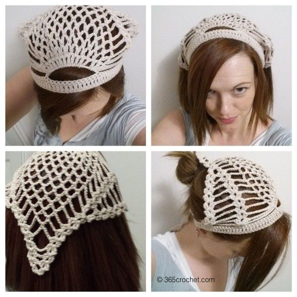 152 Best Crochet Capshatsheadbandskerchiefs Images On Pinterest