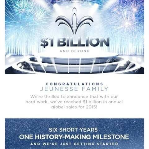 Congratulations Jeunesse This is huge! I'm so proud to be apart of Jeunesse Join our winning team today at pameladwyrick.jeunesseglobal.com