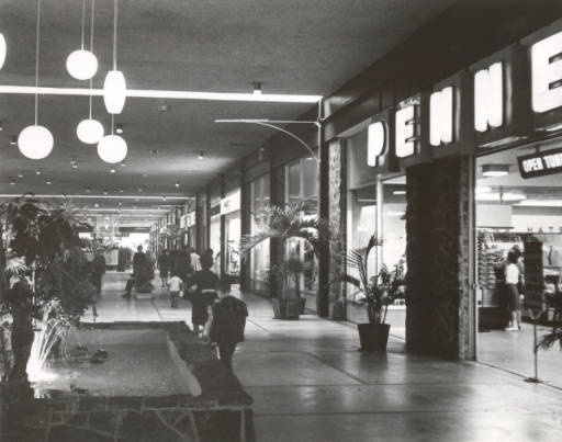 Fort Wayne Mall >> Eastwood Mall in the 1960's, Birmingham, AL - this was the first indoor mall of this kind in ...
