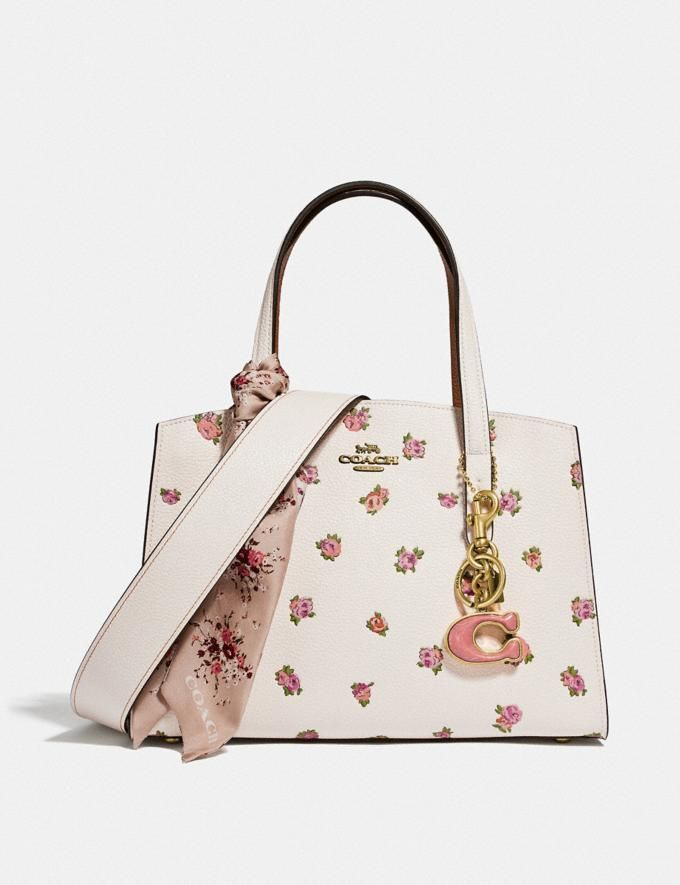 Charlie Carryall 28 With Floral Print In 2020 Leather Shoulder