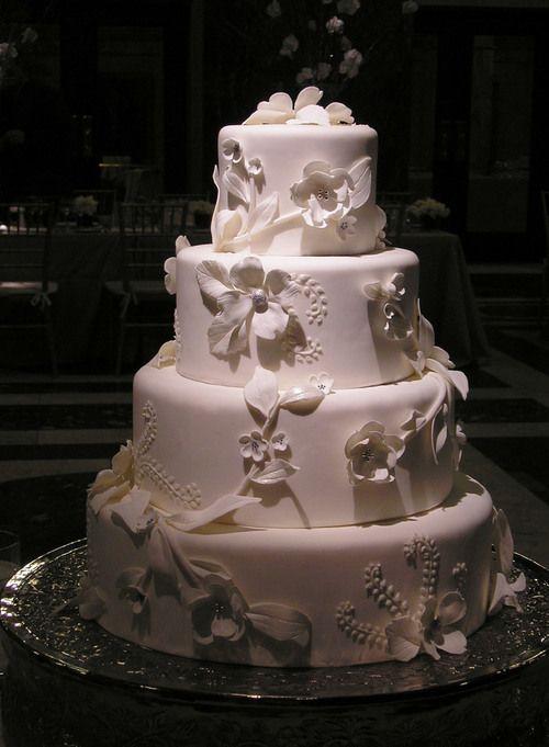 ornate wedding cake image