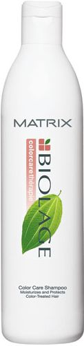 Ever since I got my first real haircut... at 14... I've used Biolage shampoo.  It cleans well and has a light scent.  BTW my mom trimmed my long hair until high school... for real!