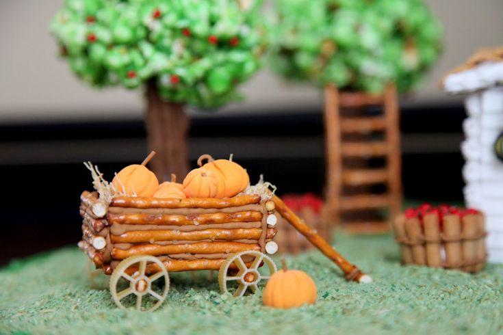 Gingerbread Apple Farm House                                                                                                                                                                                 More