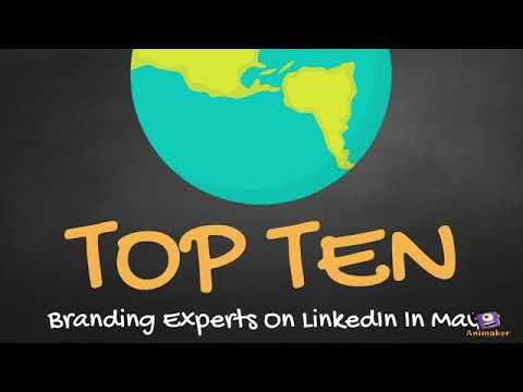 Top 10 Branding Experts on LinkedIn in May vía Joseph Bonner