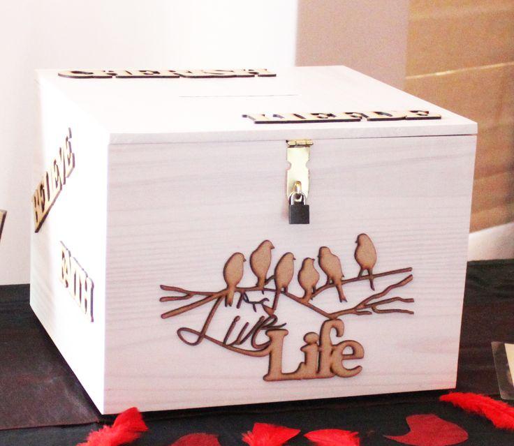 Card wedding box