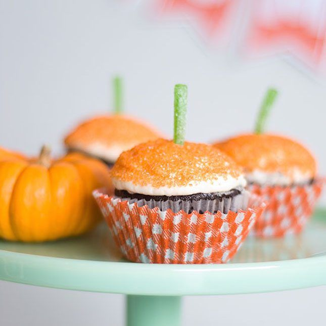18 Fall-tastic Ideas for a Pumpkin-Themed Baby Shower via Brit + Co