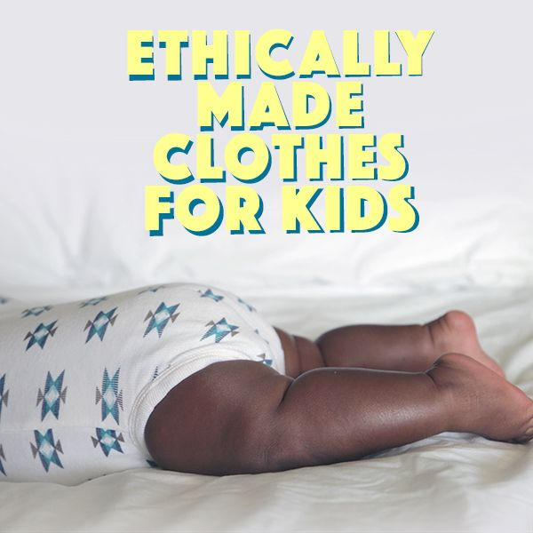 Where to shop for super cute, ethically sourced, fair trade clothes for kids!