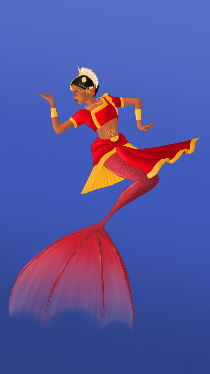Here it is... an Indian dancer for the character design challenge and mermay 2017
