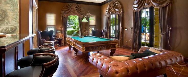 Billiards Room  Click on Link Below!  Click on REPIN Above! www.bimbigticket.com $25
