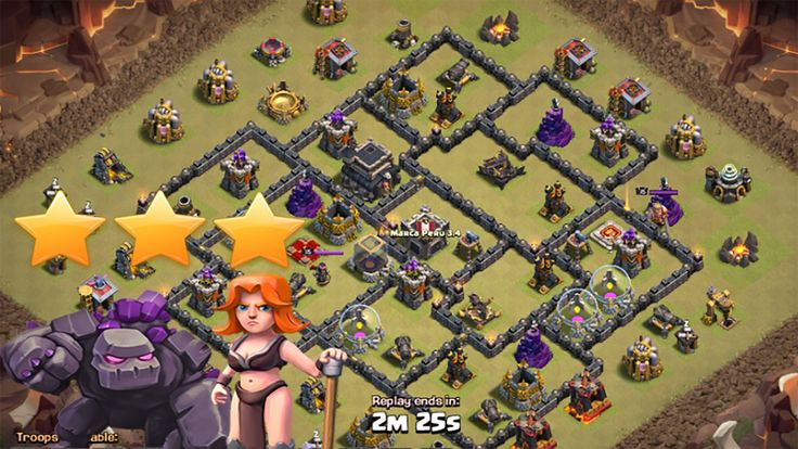 Clash Of Clans TH9 Best GOVA Attack Strategy 2016. How to GOVA attack th9. Best GOVA attack strategy 2016. Clash of clans GOVA attack strategy. Updated GOVA attack strategy clash of clans. Clash of clans GOVA attack troops combo 2016. GOVA attack troops combination clash of clans. How to GOVA 3stars war attack strategy troops composition 2016. How to GOVA: https://https//www.reddit.com/r/ClashOfClans/comments/2xgqzj/waramazing_th9_gova/   GOVA is GOLEM VALKYRIE attack strategy clash of…