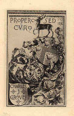 Ex Libris by Sydney Lawton Smith (1845-1929)