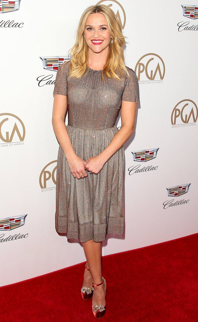 SAG Awards 2018 Afterparty and Pre-Party Dresses - Reese Witherspoon in Dolce & Gabbana