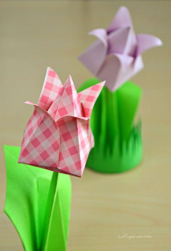 Scopri com'è semplice creare un segnaposto origami, seguendo tutti i passaggi del mio video tutorial e realizza dei segnaposto per la tavola di primavera
