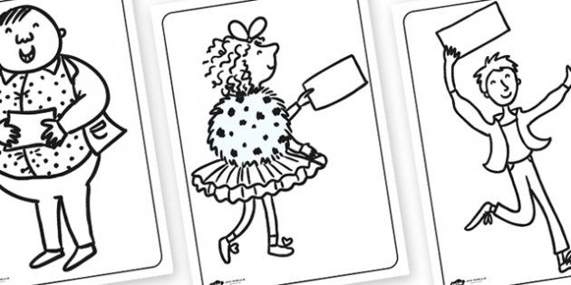 Charlie and the Chocolate Factory Colouring Pages
