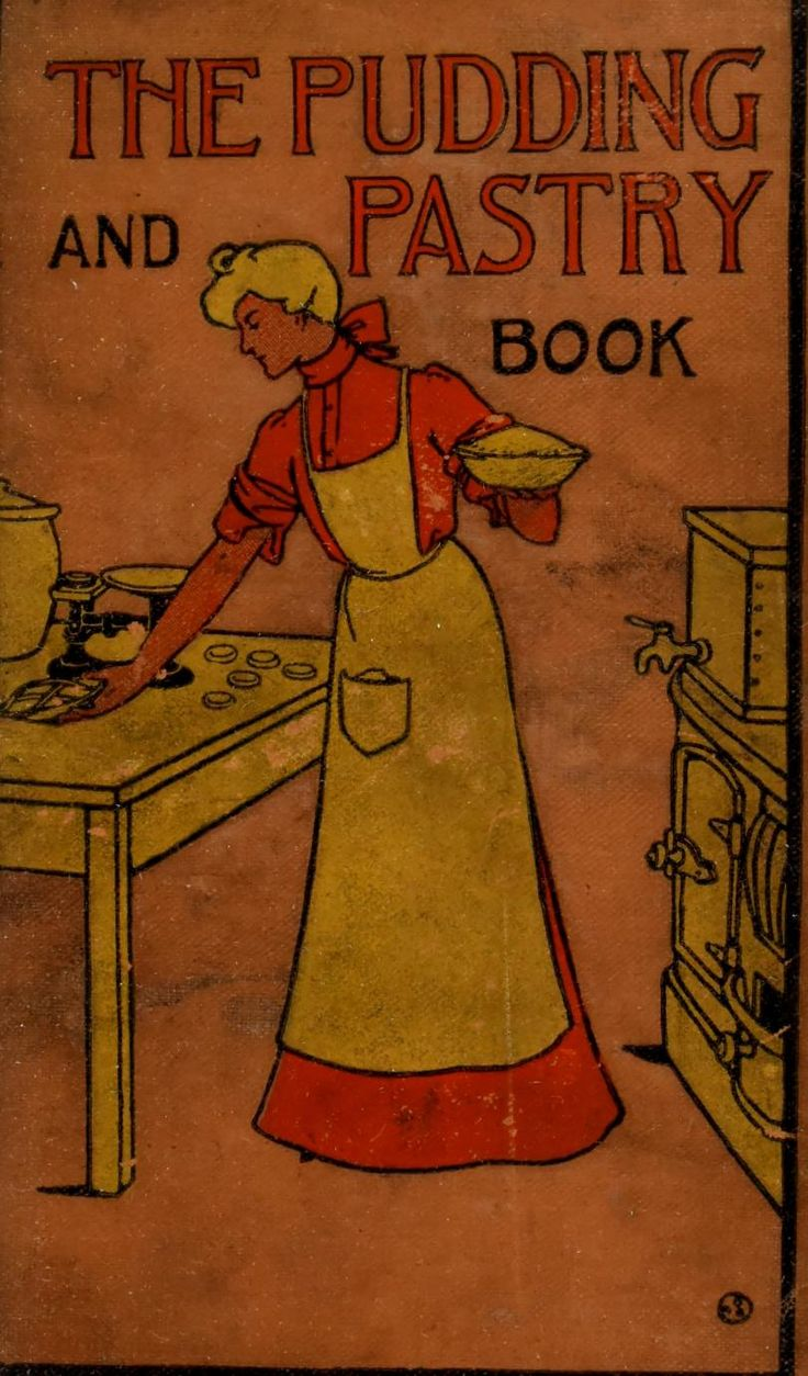 """The Pudding and Pastry Book"" 