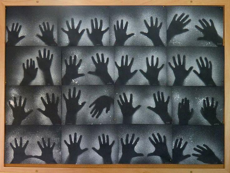 Strašidelné ruce - dripping