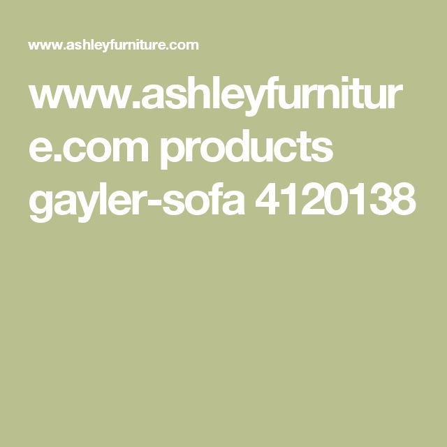 www.ashleyfurniture.com products gayler-sofa 4120138