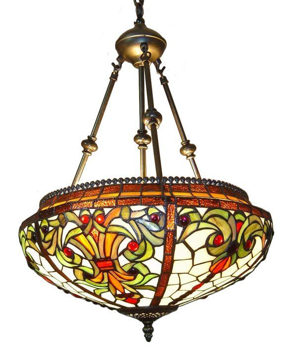 60 best stained glass and tiffany lamp shades images on pinterest brhandcrafted using methods first developed by louis comfort tiffany this elegant tiffany style baroque hanging pendant lamp will lend a unique touch to aloadofball Gallery