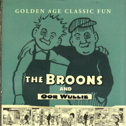 Oor Wullie and The Broons ...Wullie and Fat Boab.
