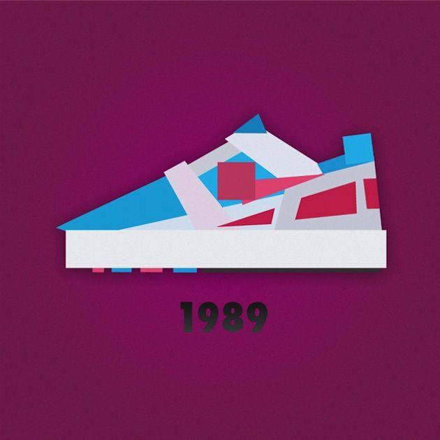 Nike Sneaker Illustrations by Jack Stocker 02