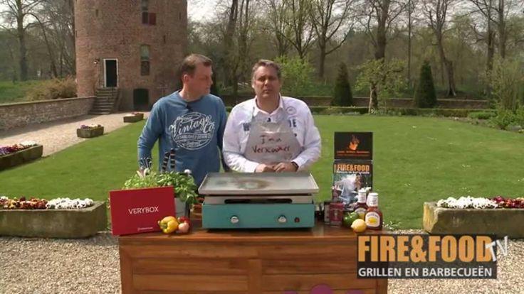 Fire&Food - Rib-eye met mangochutney