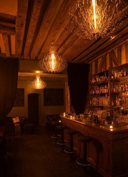 For drinks: Experimental Cocktail Club, 37 Rue Saint-Sauveur 75002, Paris