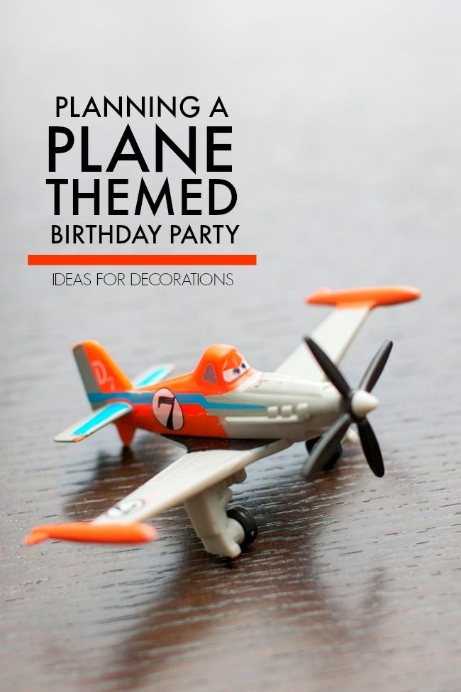 44 best Airplane Blue Orange Party images on Pinterest | Party kit ...