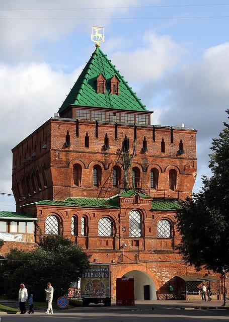 The Nizhny Novgorod Kremlin - Russia