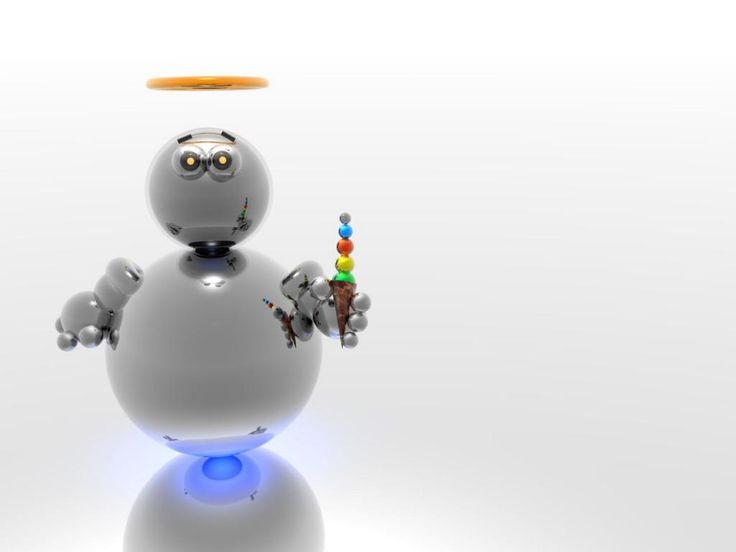 fondos de escritorio robots