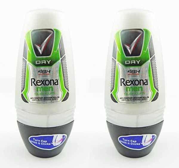 Just Listed! Rexona Men Quantum Roll On Deodorant 25ml 2 pack #Rexona