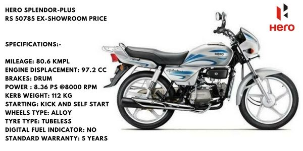 Hero Spelondor Top Selling Bike Of India Bike India 10 Things