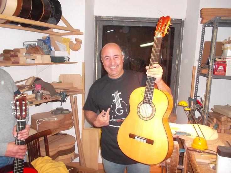 28 best images about constructores artesanos de guitarras - Artesanos de madrid ...