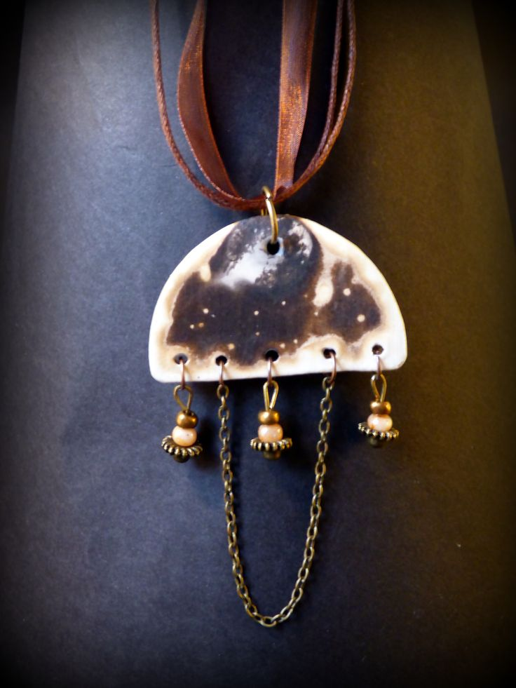 Jewellery with obvara technique