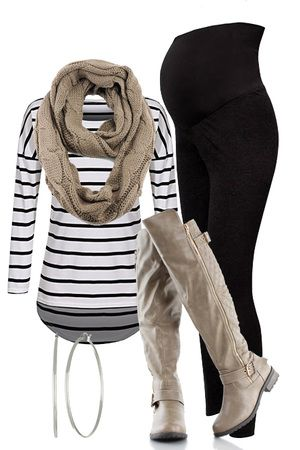 Fall Maternity Outfit from outfitsforlife.com  Visit our website for more…