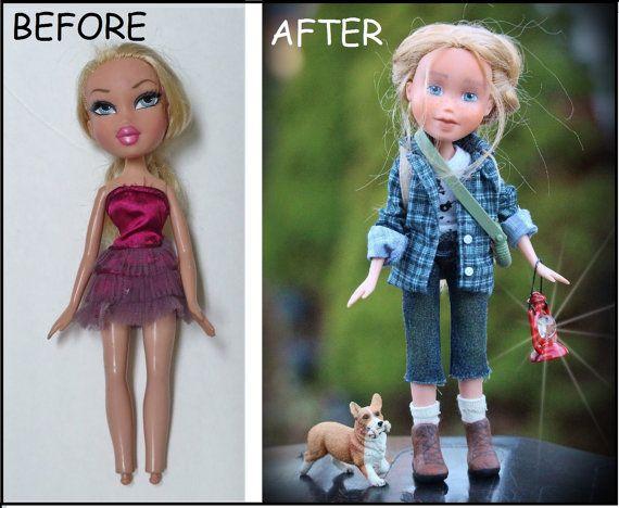 Bratz Doll Makeunder Make-over Repainted Doll by GraceFilledHands