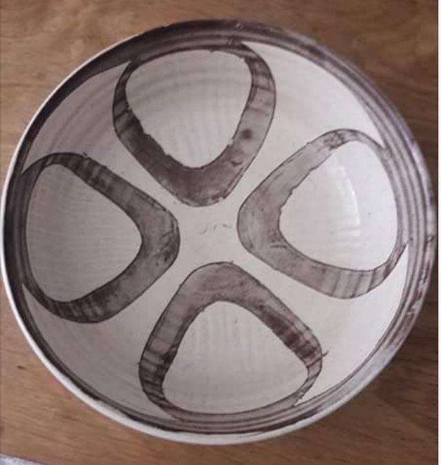 Ck Mark Dot Coldstone Kiln Pottery With Mick Dixon And Chris Harris Mystery Ha Mark Possibly Hugh Allen Pottery Marks Pottery Mark 4