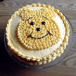 """The first """"Winnie the Pooh"""" book was published on October 14th in 1926. """"Like"""" if this cake is making you """"rumbly in your tumbly."""""""