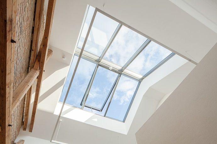 VELUX ridgelight 25-40° - Self-supporting rooflights