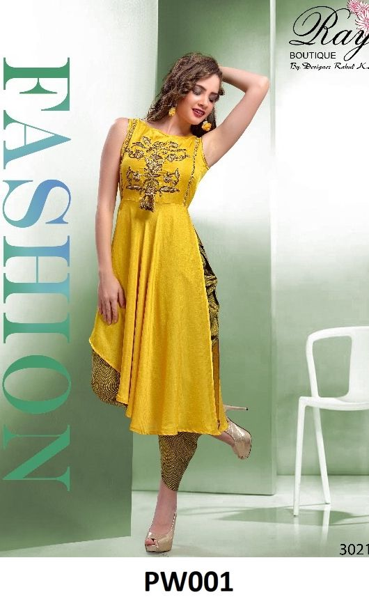 25a860c555 ... Party wear kurtis. Yellow Designer Dhoti Kurta Set for women Contact  No/WhatsApp No » 80853-95917 #designerdhotikurta #DesignerKurta  #womenfashion