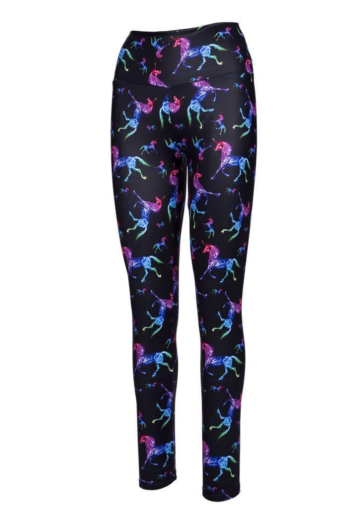 Neon Unicorns Full Length Tights
