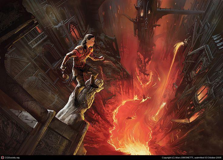 amos Daragon: Hell\'s trip by Marc SIMONETTI | 2D | CGSociety