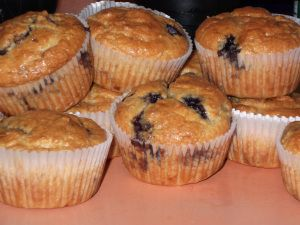 Low Carb Blueberry Muffins- Mom, I used Splenda (however much it called for of sugar) instead of Stevia. Only thing I changed.Love-Mandy