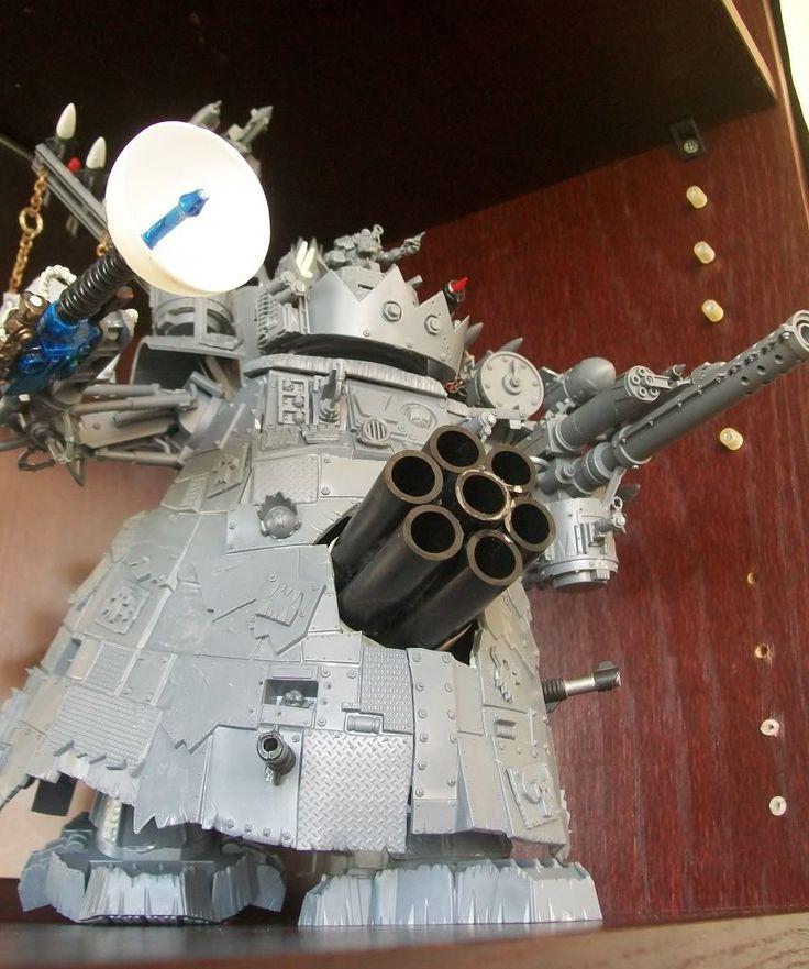 Ork Stompa, 40k, Needs Paint!!