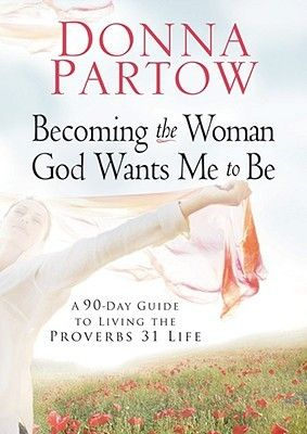 """[""""Every woman needs a little jump start in life. Donna Partow knows how to make it happen. In Becoming the Woman God Wants Me to Be, author Donna Partow shows women how to reenergize their lives in 90 days. She covers everything from faith and family to fitness and fashion (with lots more) in this comprehensive plan for greater vitality in life and intimacy with God. This in-depth study of Proverbs 31:10-31 will make women feel in control and on top of things as they study and even memorize…"""