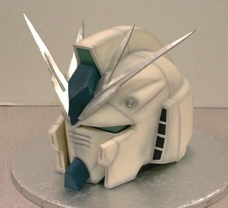 Gundam Wing Anime Cake