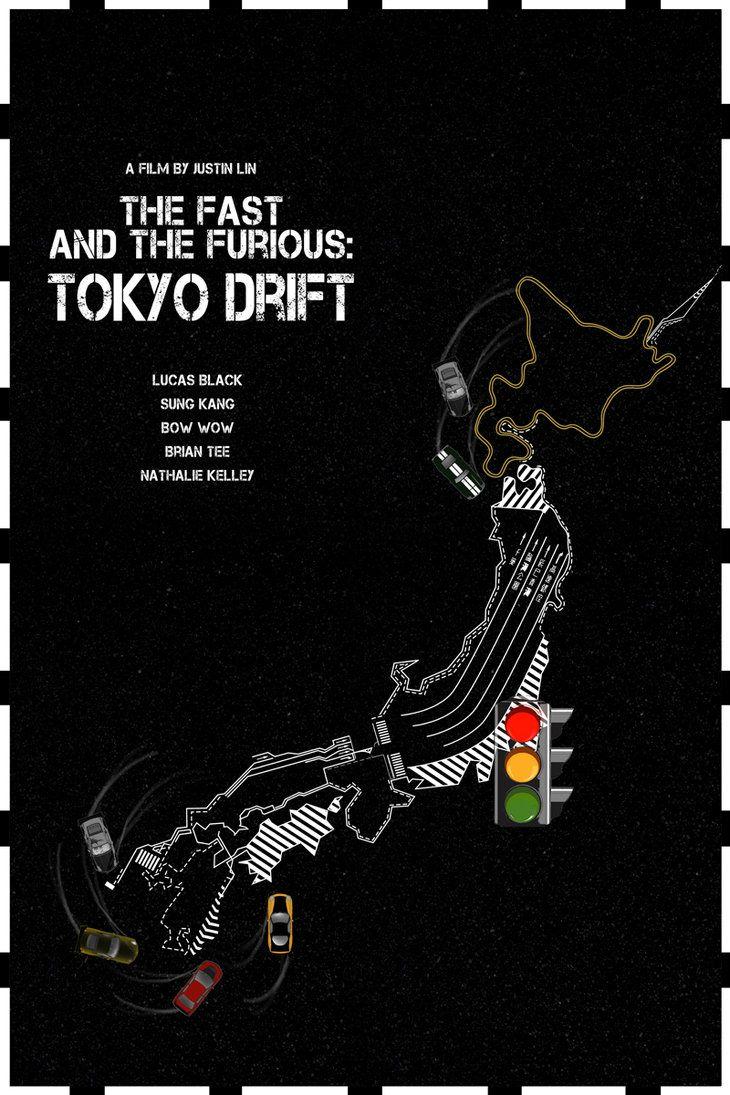 The Fast & The Furious: Tokyo Drift - movie poster - Edgar Ascensão
