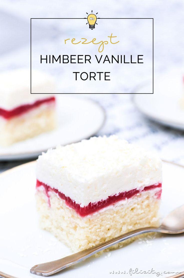 Himbeer-Vanille-Torte (Frau Holle Kuchen) – Franzi