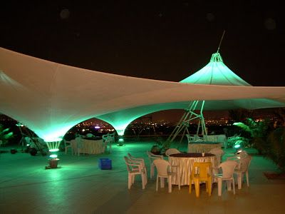 blessed with hindsight 2.0: Tensile structures by Allana College of Architecture